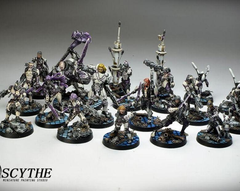 4Infinity SteelPhalanx Army4