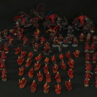Khorne Deamonkin Army - WargameTerrainFactory - Miniatures War Game Terrain & Scenery
