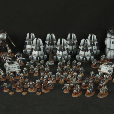 Space Marines Army - WargameTerrainFactory - Miniatures War Game Terrain & Scenery