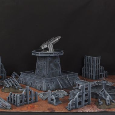 Anti Orbital Cityfight - WargameTerrainFactory - Miniatures War Game Terrain & Scenery