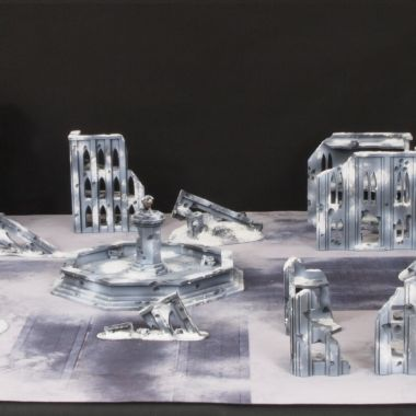 Ice Cityfight Set - WargameTerrainFactory - Miniatures War Game Terrain & Scenery