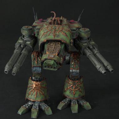 Nurgle Warhound Titan - WargameTerrainFactory - Miniatures War Game Terrain & Scenery