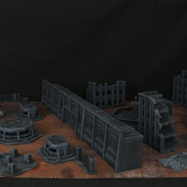 Besiged Cityfight Set - WargameTerrainFactory - Miniatures War Game Terrain & Scenery