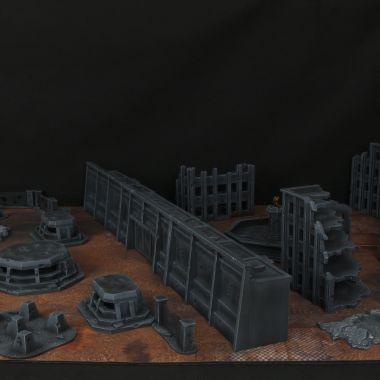 Besiged Cityfight Set - WargameTerrainFactory - Miniatures War Game Terrain & Scenery
