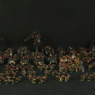 Space Marines Army - WargameTerrainFactory - Miniatures War Game Terrain & Scenery