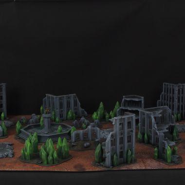 Tiberium Cityfight - WargameTerrainFactory - Miniatures War Game Terrain & Scenery