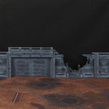 Apocalypse Wall Set - WargameTerrainFactory - Miniatures War Game Terrain & Scenery