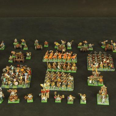 Dwarfs Army - WargameTerrainFactory - Miniatures War Game Terrain & Scenery