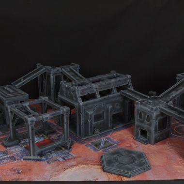 Admech Terrain Set - WargameTerrainFactory - Miniatures War Game Terrain & Scenery