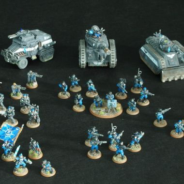 Astra Militarum Detechment - WargameTerrainFactory - Miniatures War Game Terrain & Scenery