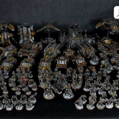 Horus Heresy Iron Warriors Army - WargameTerrainFactory - Miniatures War Game Terrain & Scenery