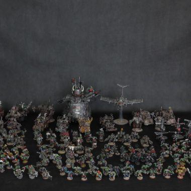 Orks Army - WargameTerrainFactory - Miniatures War Game Terrain & Scenery