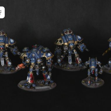 Imperial Knights Army - WargameTerrainFactory - Miniatures War Game Terrain & Scenery