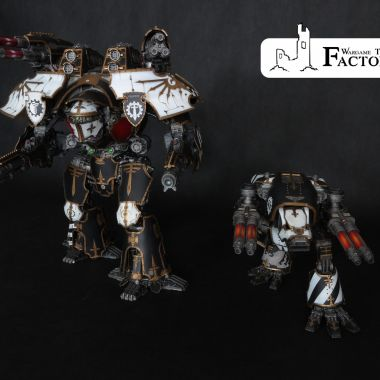 Titan Maniple - Warlord and Warhound Titans - WargameTerrainFactory - Miniatures War Game Terrain & Scenery