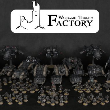 Iron Hands - WargameTerrainFactory - Miniatures War Game Terrain & Scenery