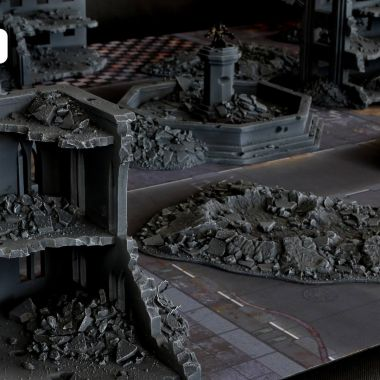 Rubble Cityfight Set - WargameTerrainFactory - Miniatures War Game Terrain & Scenery