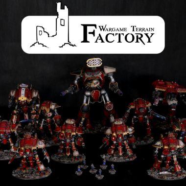 Horus Heresy Titans Army - WargameTerrainFactory - Miniatures War Game Terrain & Scenery