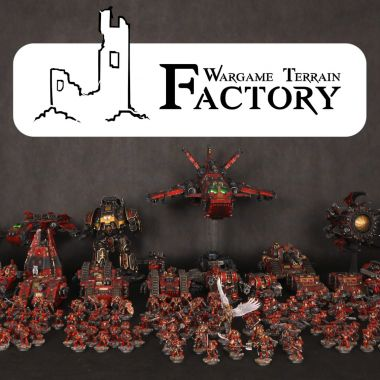 Horus Heresy Blood Angels Army - WargameTerrainFactory - Miniatures War Game Terrain & Scenery