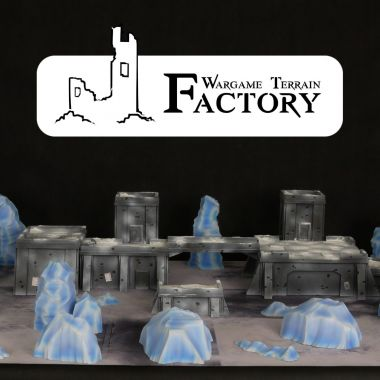Ice Deathworld Terrain Set - WargameTerrainFactory - Miniatures War Game Terrain & Scenery