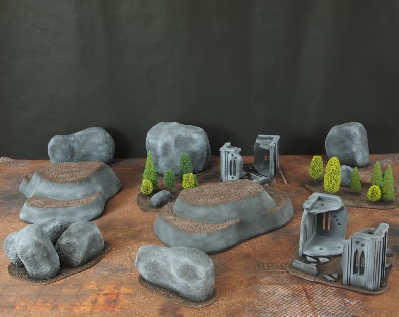 Warhammer 40k classic terrain 1 1