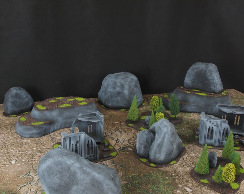 Warhammer 40k classic terrain 1 2