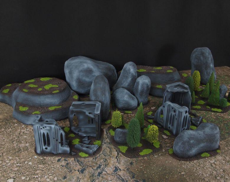 Warhammer 40k classic terrain 1 4