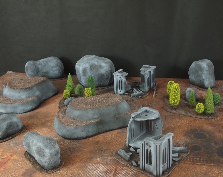 Warhammer 40k classic terrain 2