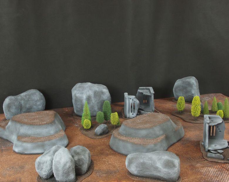 Warhammer 40k classic terrain 3