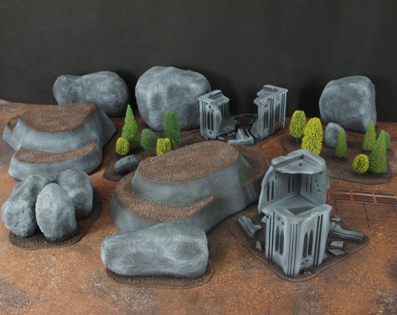 Warhammer 40k classic terrain 4