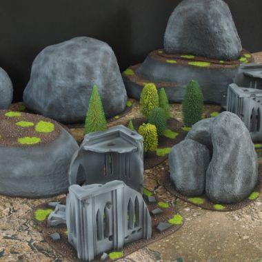 Classic terrain set 2 - WargameTerrainFactory - Miniatures War Game Terrain & Scenery