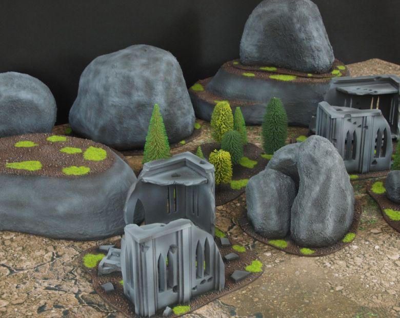 Warhammer 40k classic terrain 6