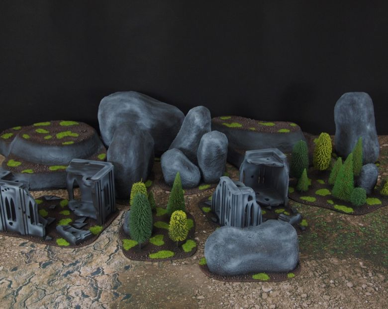 Warhammer 40k classic terrain