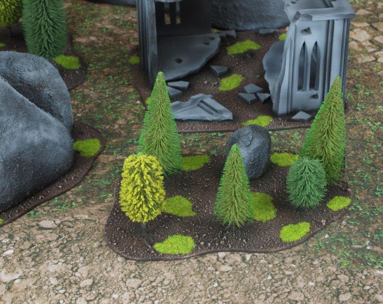 Warhammer 40k classic terrain forest 1 1