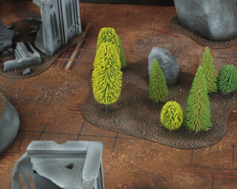 Warhammer 40k classic terrain forest 1