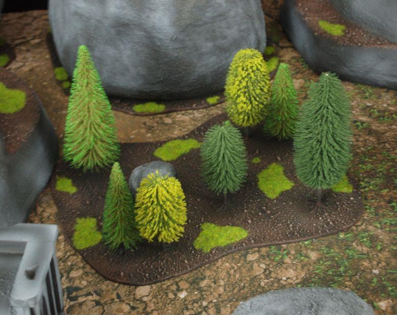 Warhammer 40k classic terrain forest 2 1