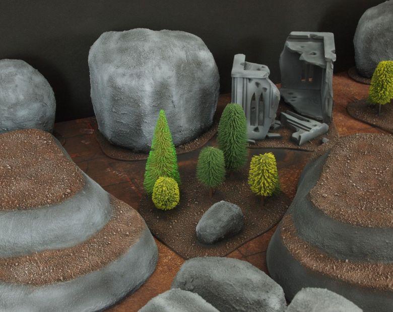 Warhammer 40k classic terrain forest 2