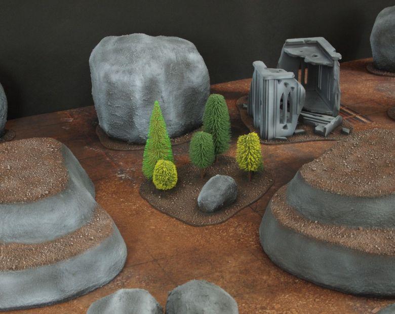 Warhammer 40k classic terrain hills 1