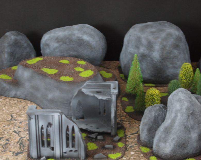 Warhammer 40k classic terrain rocks 1 1