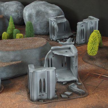 Classic terrain set 3 - WargameTerrainFactory - Miniatures War Game Terrain & Scenery