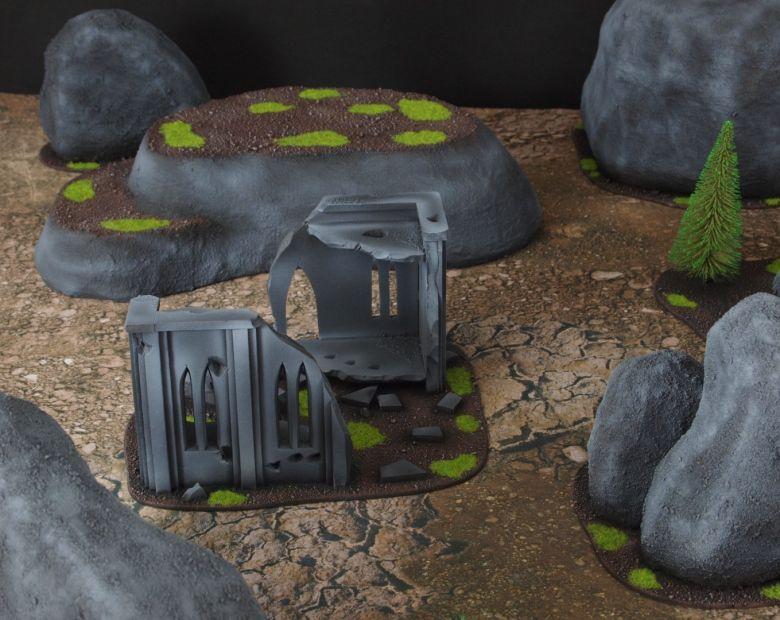 Warhammer 40k classic terrain ruins 1 1