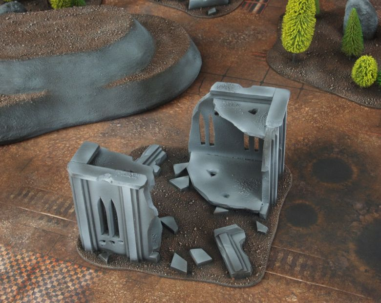 Warhammer 40k classic terrain ruins 1
