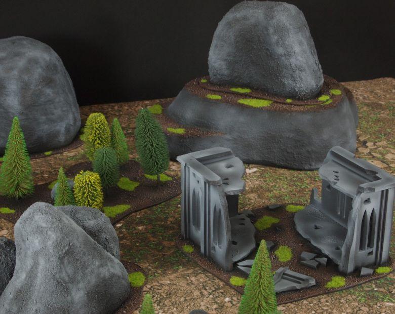 Warhammer 40k classic terrain ruins 2 1