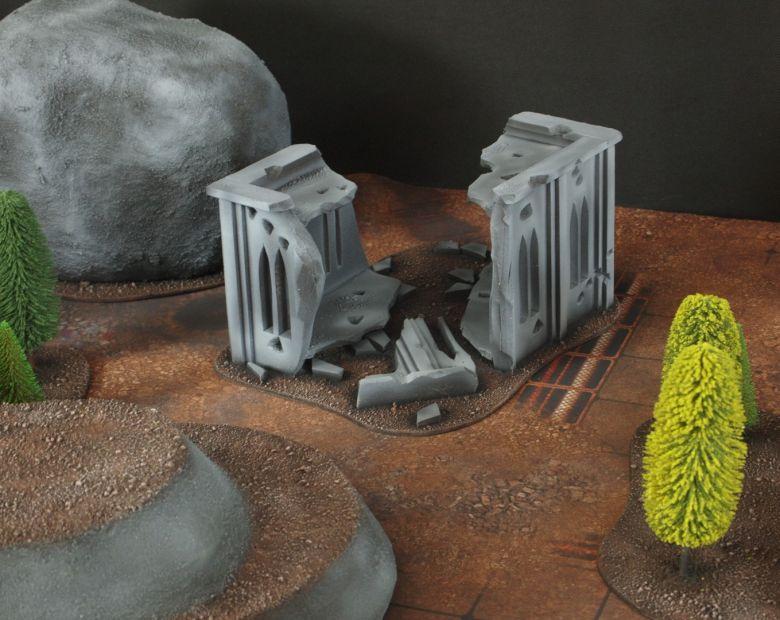 Warhammer 40k classic terrain ruins 2