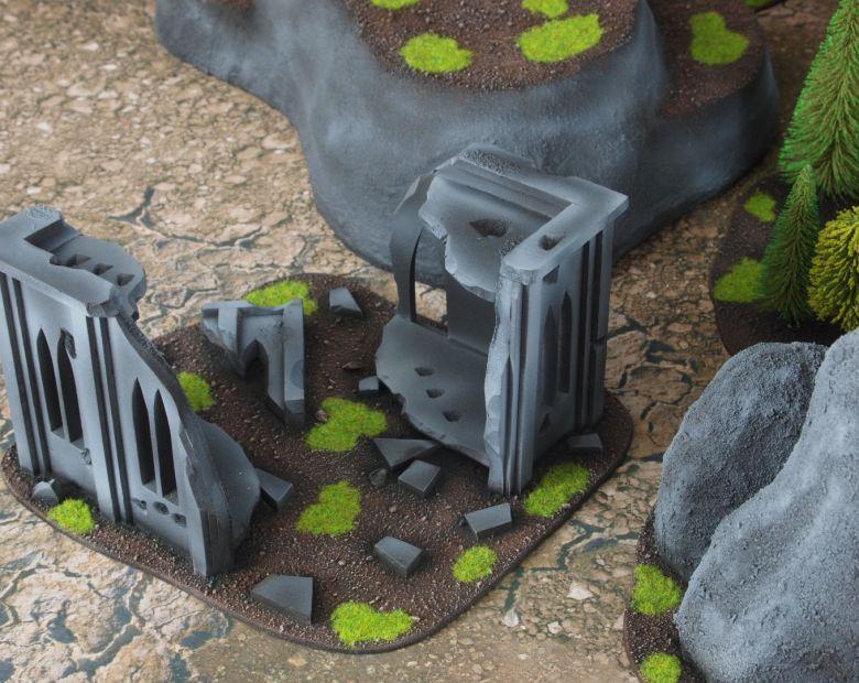 Warhammer 40k classic terrain ruins 3