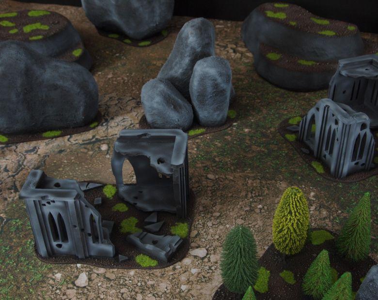 Warhammer 40k classic terrain ruins