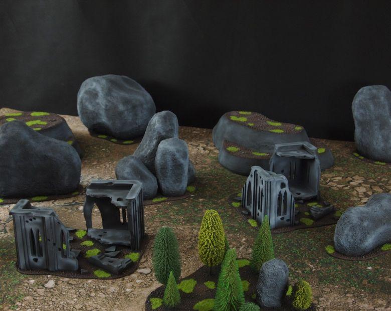 Warhammer 40k classic terrain set 1