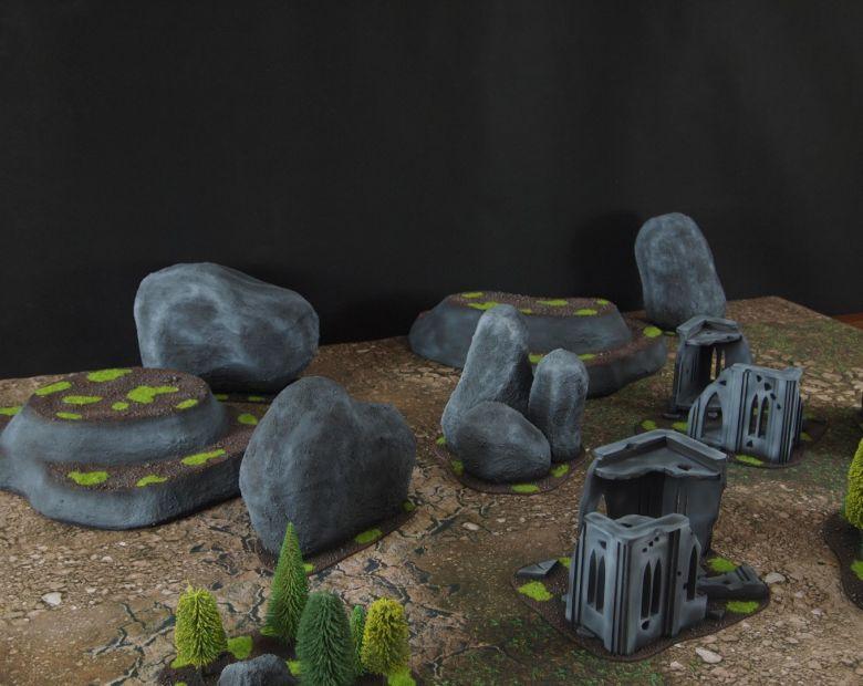 Warhammer 40k classic terrain set 2
