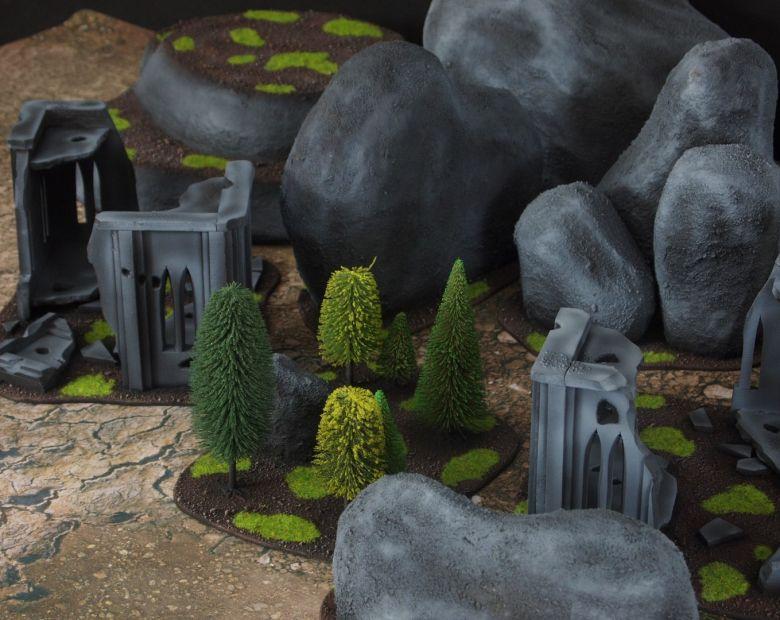 Warhammer 40k classic terrain set 3