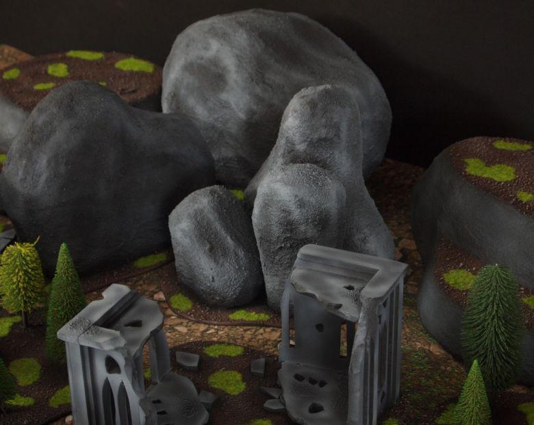 Warhammer 40k classic terrain set 4