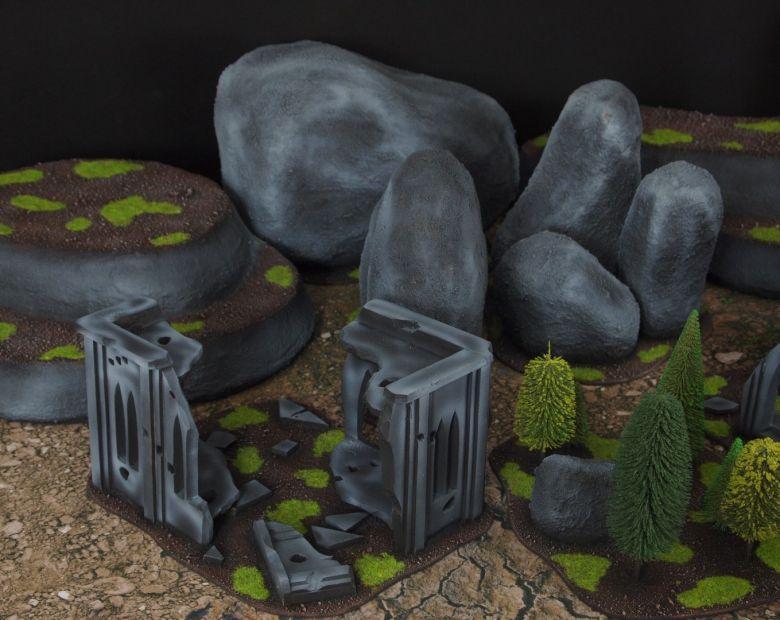 Warhammer 40k classic terrain set 5
